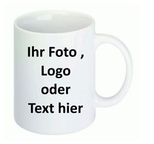 Fototasse, Tassendruck, Tasse mit Logo, Werbe Tasse, Wunschmotiv