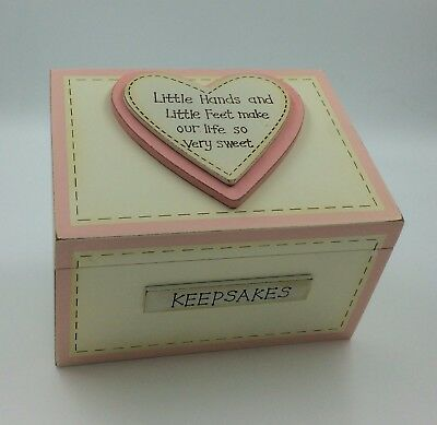 Handmade Wooden Baby Boy Keepsake Memory Box Christening Gift Ideas For Babies Gifts