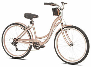 """Cruiser Bike 26/"""" Mens Bicycle 7-Speed Shimano Outdoor Cycling Road Ride Travel"""