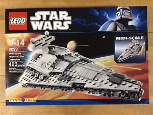 LEGO Star Wars Midi-Scale Imperial Star Destroyer (8099), New In Sealed Box