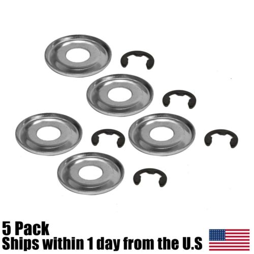 5 Clutch Washer w// Clip for Stihl 0000 958 1022 MS240 MS260 MS290 MS310 MS360