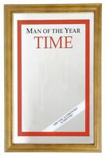 Man Of The Year Time Nostalgie Miroir de Bar Miroir Bar Miroir 22 X 32 Cm