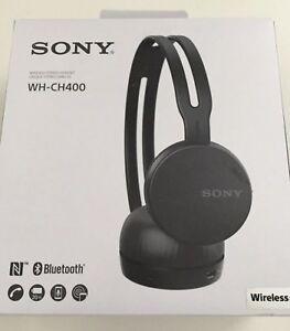 Sony Wh Ch400 Wireless Bluetooth Headphones Black Store Return Bestbuy Price 49 Ebay