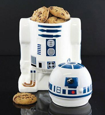 Star Wars R2D2 COOKIE JAR Ceramic Biscuit Storage Container