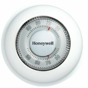 Honeywell CT87N1001 Round Heat/Cool Manual Thermostat