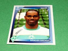 181 NALDO WERDER BREMEN EFA PANINI FOOTBALL CHAMPIONS LEAGUE 2008 200