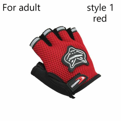 Climbe Outdoor Sport Bicycle Cycling Bike Half Finger Mesh Gloves Touch Screen