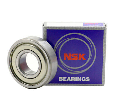 NSK 6206 DDU Deep Groove Radial Ball Bearing 30x62x16mm