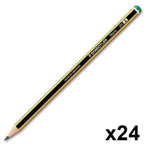 Staedtler Noris 120 Pencils 2H Office School Craft Art 24 Boxed Pencils