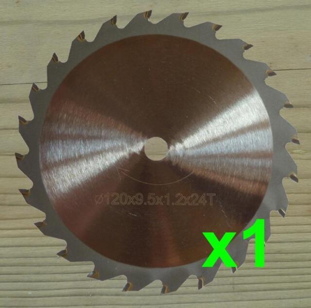 120mm Circular Saw Blade 9.5mm Bore Wood Cutting Blade for WORX WORXSAW XL WX247