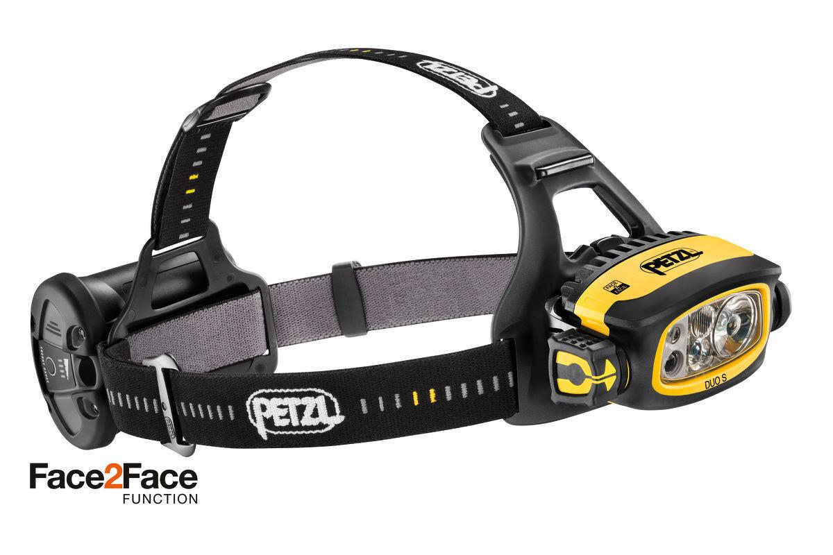 Petzl Duo S Scheinwerfer   Head Torch 1100 LuSies Wasserdicht - Caving, Angeln