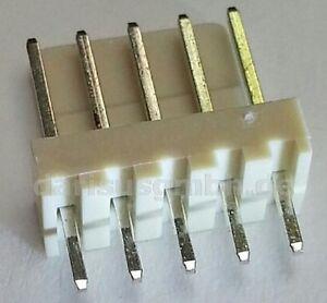 1000-pcs-Stiftleiste-gerade-5-polig-5pol-einreihig-RM-2-54mm