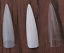 Long-Stiletto-Nail-Tips-Natural-Clear-White-practice-display-UK-SELLER