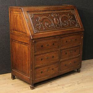 sekret r schreibtisch m bel holl ndisch holz eichenholz schreibschrank antik 900 ebay. Black Bedroom Furniture Sets. Home Design Ideas