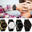 Women-Men-Wristwatch-Leather-Quartz-Stainless-Steel-Case-Analog-Watches-New