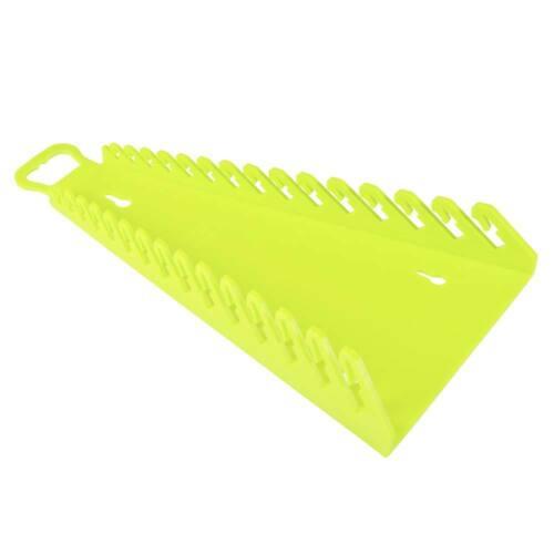 Ernst Mfg 5182HV GRIPPER Hi-Viz 15 Wrench Organizer Hi-Viz Yellow Revers Facing