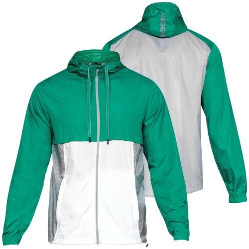 Details about  /Under Armour Men/'s Green UA Sportstyle Windbreaker Lightweight Zip Hooded Jacket