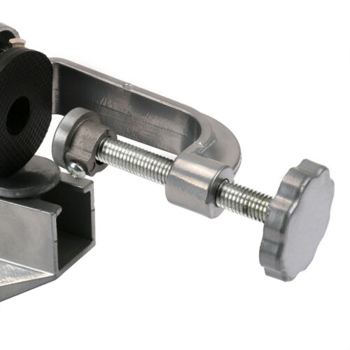 """3/"""" Universal Aluminum Bench Table Vise Vice Swivel Tabletop Clamp 360° Rotating"""