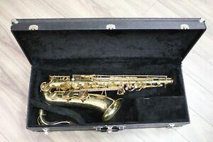 1996-Amati-Kraslice-ATS-62-Bb-Tenor-Saxophone-w-Hard-Case