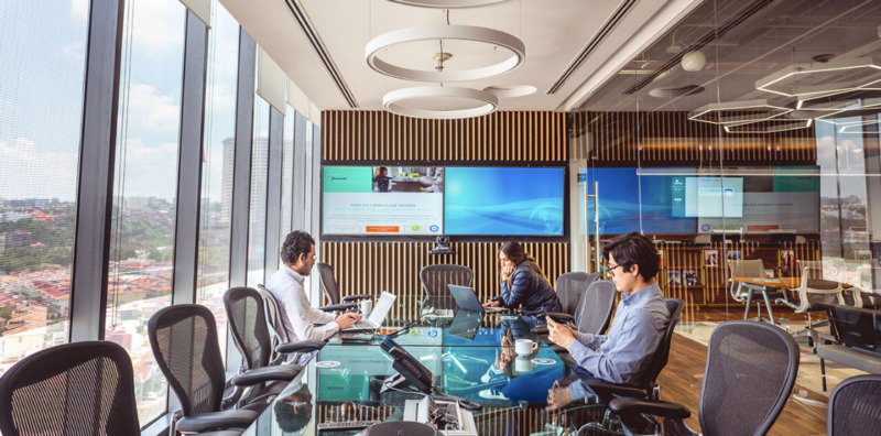 Oficina En Renta En Centro De Negocios En Paseo Interlomas Para 50 Personas (m2o