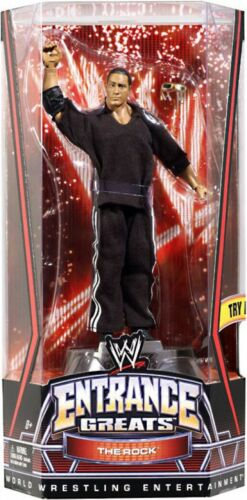 WWE Wrestling Entrance Greats le rock Action Figure