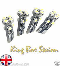 4x CANBUS ERROR FREE 8 SMD LED XENON HID T10 501 SIDE LIGHT BULBS PURE WHITE W5W