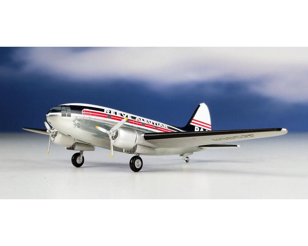 Aeroclassics Reeve Aleutian C-46 N9852F échelle 1 200 AC219328