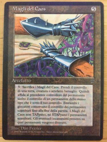 Gauntlets of Chaos Italian Legends mtg NM