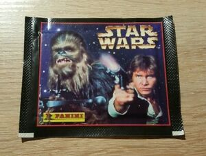 Panini-10-Tueten-Star-Wars-Han-Solo-Packet-Pack-Bustina-Sobre-Pochette