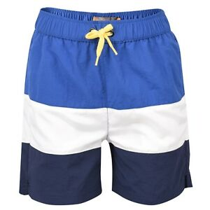 81f87b164636 Image is loading Designer-BEN-SHERMAN-Boys-Tri-Colour-Swim-Shorts-