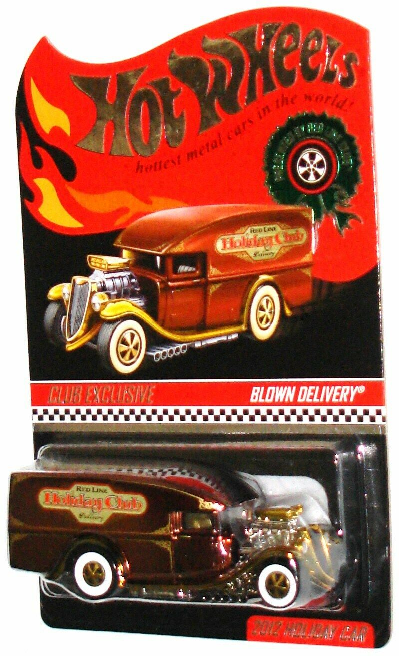 MOMC 2012 RLC Club Exclusive Holiday car root beer Blown Delivery ONLY 5000 MADE