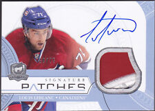 11-12 The Cup Louis Leblanc /75 Auto Patch Signature Patches Canadiens 2011