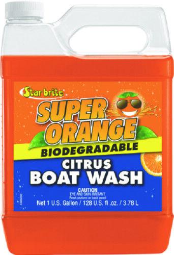 Starbrite Marine Super Orange Zitrus Stiefel Waschen Waschen Stiefel 1 Gallon Schmutz Öl Fett edd1be