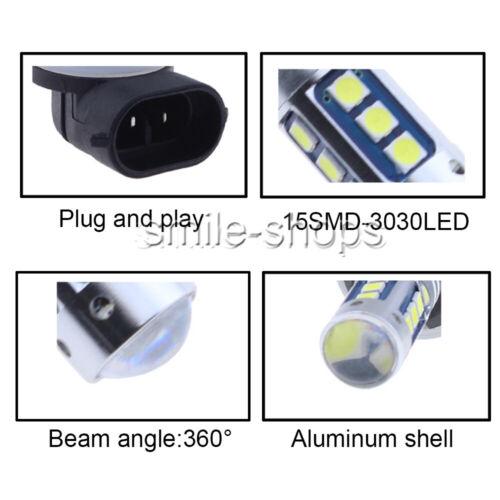 2x 881 889 LED COB Fog Light bulb 2400LM For Hyundai Elantra Accent 2013-2017