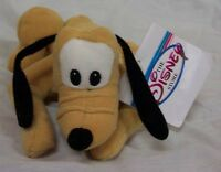 Disney Pluto Dog Bean Bag 7 Stuffed Animal Toy