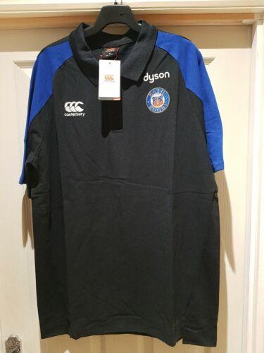 Canterbury Bath Rugby Vapordri Performance Polo Shirt Size 2XL  BNWT