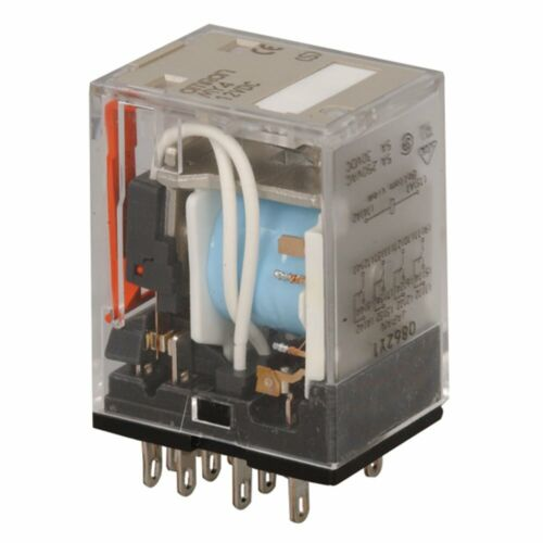 R12-17D3-12 Ice Cube 5A 14 Pin 0862Y1 Omron MY4 12vdc Coil 4PDT Relay