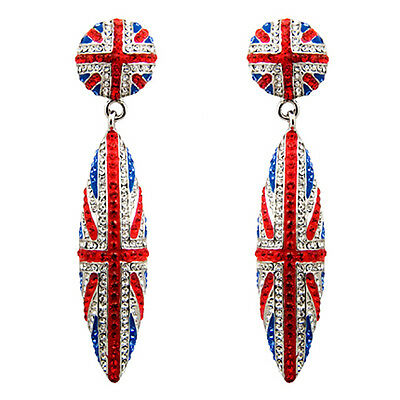 Butler and Wilson Union Jack Heart Necklace HARRY MEGHAN ROYAL WEDDING LTD STOCK