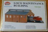 Model Power N 1516 Building Kit -- Locomotive Maintenance Building
