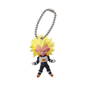 Dragon Ball Z Super Swing Mascot PVC Keychain SD Figure Saiyan~SS Bardock @23471