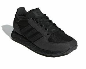 Details about Sale Boys Adidas Originals Forest Grove J G27822 Trainers Black