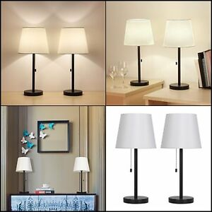 Table Led Lamp For Study Desk Bedroom W Pull Chain Switch