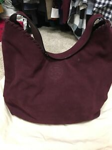 76cb6a7aa55 Image is loading Tory-Burch-Marion-Suede-Hobo-Bag