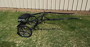 Antique Jerald Show Sulky Racing Roadster Cart Buggy Horse
