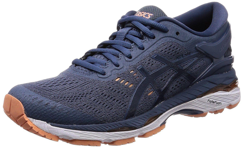ASICS Running shoes LADY GEL-KAYANO 24-slim TJG760 Smoky Dark blueee US7.5(24.5cm)