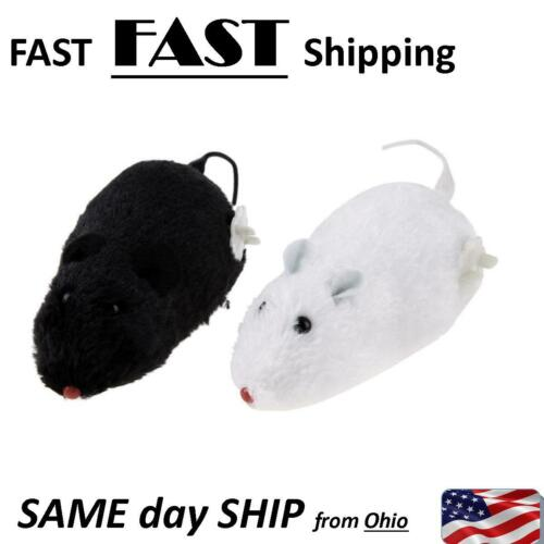 2 PACK wind up mouse rat