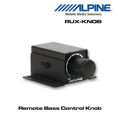 Alpine RUX-KNOB - Bass Controller For PDX-V9, PDX-M12, PDX-M6, MRX-V70  Amplifier   eBay
