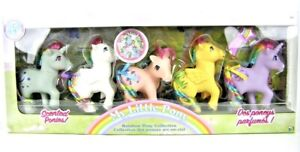 NEW-My-Little-Pony-Classic-35th-Anniversary-Rainbow-Collector-Set-5-Ponies-MLP