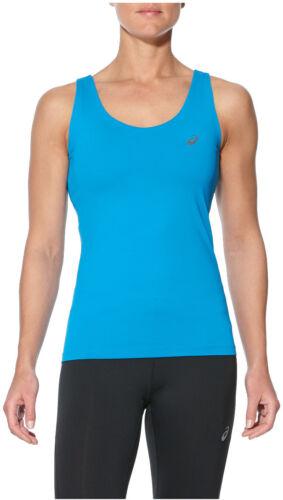 Asics Elite Womens Running Vest Tank Top Blue