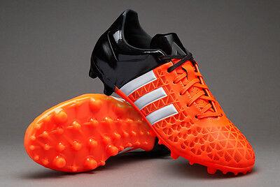 adidas Ace 15.3 FG/AG Junior Football Boots/Soccer Cleats -Orange/Black Sz 10 Y | eBay